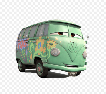 Mater Lightning McQueen Cars Fillmore - bus greyhound  png image transparent background