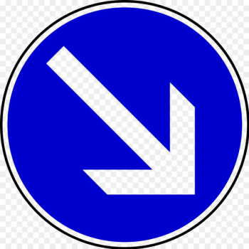 Traffic sign Arrow Direction, position, or indication sign Road - arrow  png image transparent background