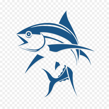 Logo Fishing Tuna - Fish cartoon logo design image  png image transparent background