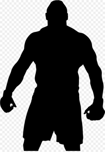 Human behavior Character Silhouette -   png image transparent background