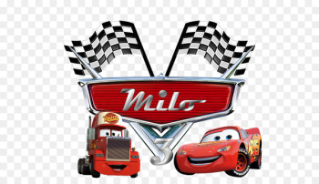 Lightning McQueen Mater Logo Cars Birthday - Cars 3  png image transparent background