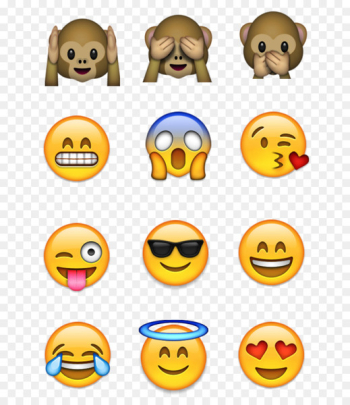Emoji Emoticon Smiley WhatsApp - emojis  png image transparent background