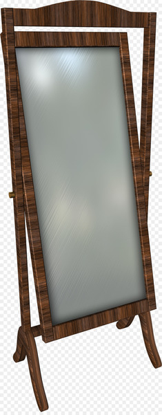 Mirror - Brown Creative Mirror  png image transparent background