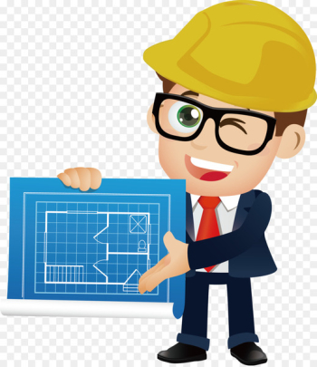 Architectural engineering Cartoon - engineer  png image transparent background
