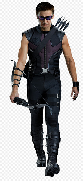 Jeremy Renner Clint Barton Black Widow Captain America Avengers: Age of Ultron - Hawkeye  png image transparent background