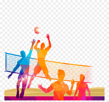 Volleyball Sport Poster - Volleyball material download  png image transparent background