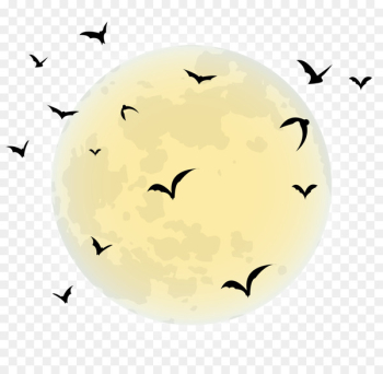 Halloween Full moon Clip art - moon  png image transparent background
