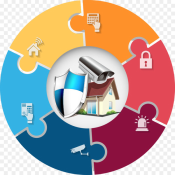 Safety House Security - Vector Security theme charts  png image transparent background