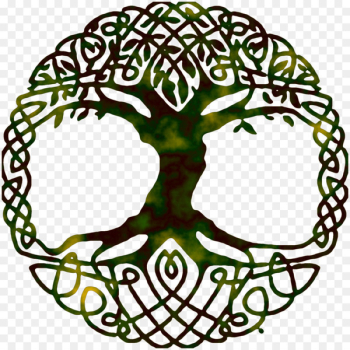 Tree of life Yggdrasil World tree Symbol - gospel  png image transparent background