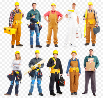 Architectural engineering Construction worker Building General contractor Clip art - Industrial Worker  png image transparent background