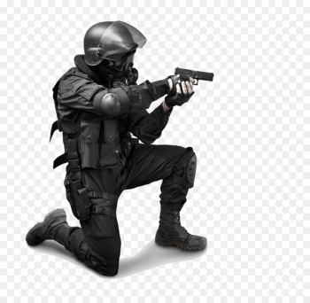 Special Forces Military Stock photography Soldier - Man holding a pistol  png image transparent background