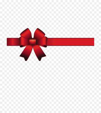 Ribbon Bow and arrow Red Satin - Bow  png image transparent background