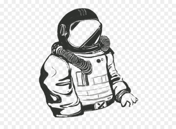 Astronaut, Drawing, M02csf, White PNG png image transparent background