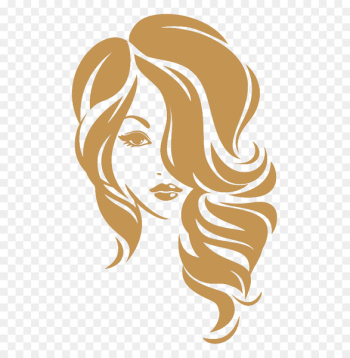 Beauty Parlour Hairstyle Logo - hair  png image transparent background