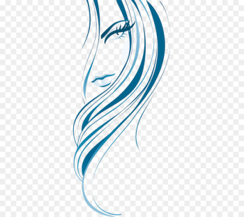 Beauty Parlour Drawing Woman - woman  png image transparent background