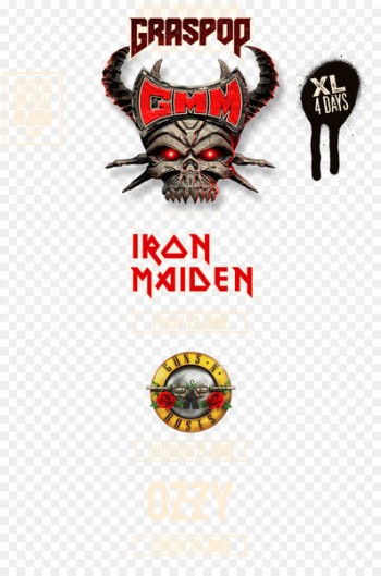 2018 Graspop Metal Meeting 2017 Graspop Metal Meeting Dessel Iron Maiden Logo - 2018 Graspop Metal Meeting  png image transparent background