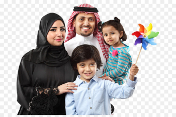 Saudi Arabia Family Arabs in Turkey Ibn Saud - happy family  png image transparent background