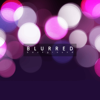Bokeh lights and glitter background Free Vector - Nohat