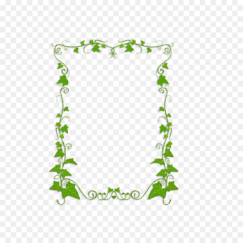 Common ivy Plant Vine Clip art - green leaves border  png image transparent background