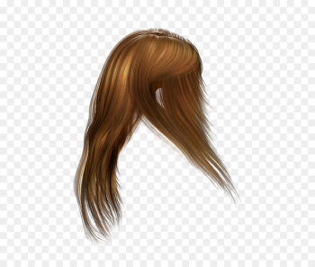 Hairstyle Cabelo Wig Brown hair - hair  png image transparent background