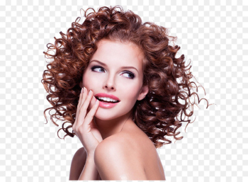 Hair care The Lounge Hair Studio Hairstyle Frizz - Curly beautiful map  png image transparent background