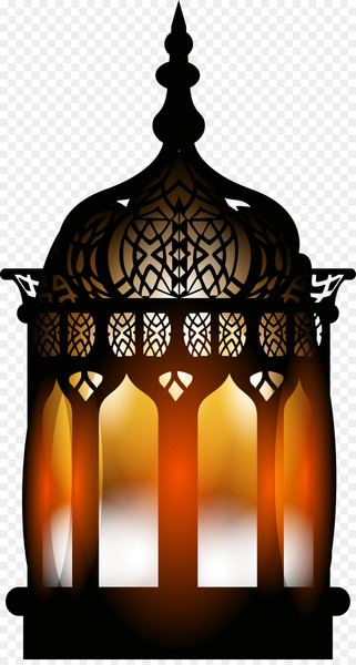 Quran Islam Ramadan - Black Retro street lamp  png image transparent background