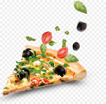 New York-style pizza Fast food Italian cuisine Take-out - Pizza food image  png image transparent background