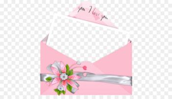 Love Letter Romance Friendship - Pink Letter I Love You PNG Picture  png image transparent background