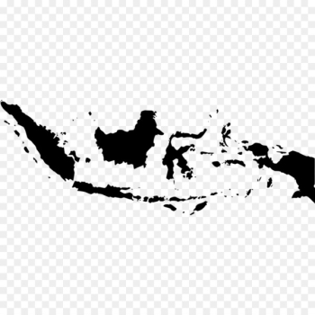Flag of Indonesia Vector Map - komodo  png image transparent background