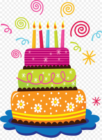Happy Birthday to You Happiness Wish Dios te Bendiga - Birthday Cake  png image transparent background