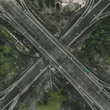 aerial photography of road png image transparent background