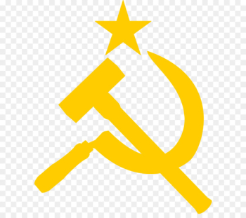 Flag of the Soviet Union Hammer and sickle Symbol - Soviet Union logo PNG  png image transparent background