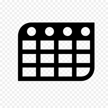 Computer Icons Font Awesome Table Database - calendar icon  png image transparent background