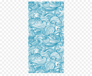 Wind wave Sea Ocean Pattern - Blue ocean wave pattern background  png image transparent background
