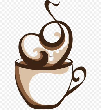 Coffee cup Cafe Coffee cup - Vector hot coffee  png image transparent background