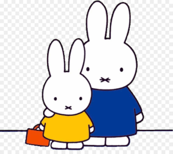 Miffy Goes to Stay Miffy in Hospital Miffy Books Miffy and Her Friend - Cute Miffy Rabbit  png image transparent background