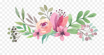 Wedding invitation Mothers Day Flower Gift - Colorful bouquet  png image transparent background