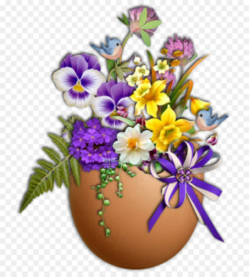 Easter Bunny Flower Easter egg Le Monde Des Fleurs - premier mai  png image transparent background
