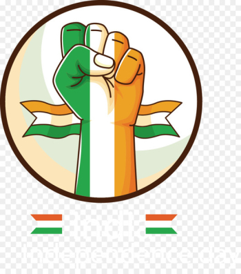 Indian independence movement Indian Independence Day Indian Independence Act 1947 Public holiday - Vector painted icon Italy  png image transparent background