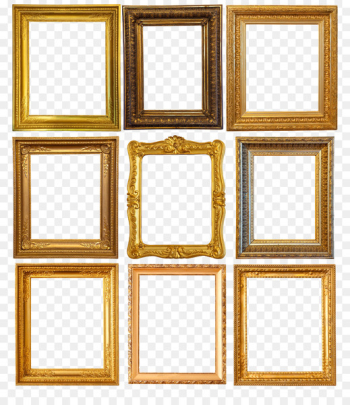 Picture frame painting Photography Shutterstock - Retro frame word  png image transparent background