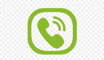 Logo Telephone call Icon - Green phone symbol  png image transparent background