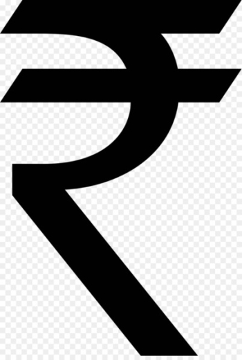 Indian rupee sign Scalable Vector Graphics - Rupees Symbol Clip Art  png image transparent background