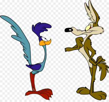 Wile E. Coyote and the Road Runner Looney Tunes Cartoon - runner  png image transparent background