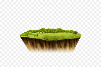 Island Download Icon - Floating island  png image transparent background