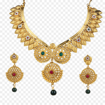 Necklace Earring Kundan Jewellery Bride - necklace  png image transparent background