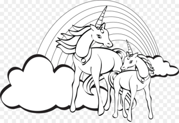 Unicorn Coloring Book Colouring Pages Unicorn Coloring Book Child - unicorn  png image transparent background