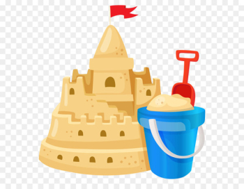 Sand art and play Clip art - Sand Castle PNG Image  png image transparent background
