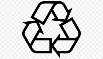 Recycling symbol Icon - Recycle Sign  png image transparent background