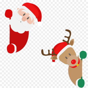Rudolph, Santa Claus, Reindeer, Fictional Character PNG png image transparent background