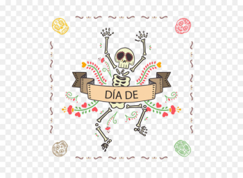 La Calavera Catrina T-shirt Day of the Dead Halloween - Halloween elements  png image transparent background